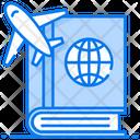 Travel Book Guide Book Atlas Book Icon