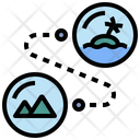Attraction Bubble Distance Icon
