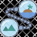 Route Bubble Attraction Icon