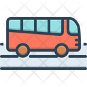 Travel Booking Transport Icon