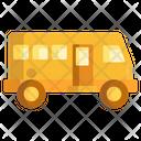 Tour Bus Transport Vehicle Icon