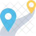 Travel Distance Icon