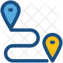 Travel Distance Icon