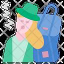 Travel Fatigue Icon