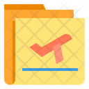 Travel Folder Icon