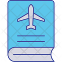 Travel Guidebook Tourism Guidebook Travelling Guide Icon