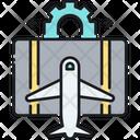 Travel Hacking Airpplane Hacking Icon