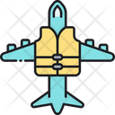 Travel Insurance Flight Insurance Airoplane Insurance Icon
