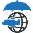 Travel Insurance Flight Icon