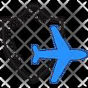 Travel Insurance Shield Icon