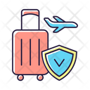 Travel Protection Insurance Icon