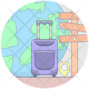 Travel Itinerary Icon