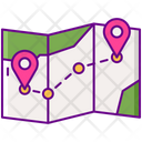 Travel Itinerary Icon