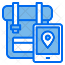 Travel Bag Bag Camping Icon
