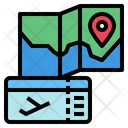 Ticket Map Pin Icon