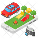 Travel Navigation Icon