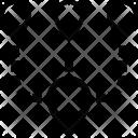 Multiple Address Paths Icon