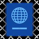 Document Identity Nationality Icon
