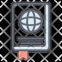 Travel Passport Vector Icon