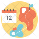 Holiday Journey Trip Icon