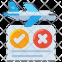 Travel Regulations Travel Schedule Flight Schedule Icon