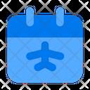 Schedule Travel Schedule Flight Schedule Icon