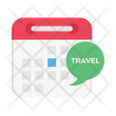 Travel Schedule Date Icon