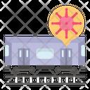 Travel Spread Virus Icon
