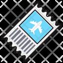 Ticket Flight Travel Icon