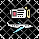 Travel Ticket Travel Pass Vip Ticket Icon