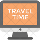 Travel Time Display Icon