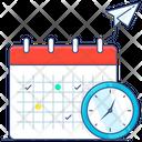 Calendar Reminder Travel Time Icon