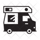 Recreational Vehicle Camping Transport Icon
