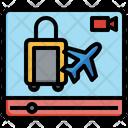 Travel Vlog Icon