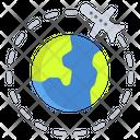 Travel World Icon