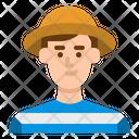 Traveler Tourist User Icon
