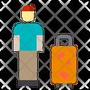 Traveler Bag Travel Icon
