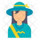 Traveler Avatar Woman Icon