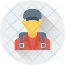Passenger Traveller Mountaineer Icon