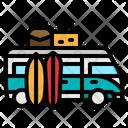 Car Transportation Sun Icon