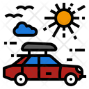 Car Travel Roof Icon