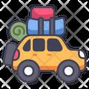 Family Car Travel Icon