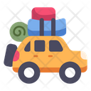 Traveling Car Icon