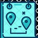 Travel Blue Calendar Icon