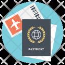 Traveling Documents Icon