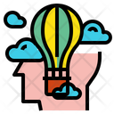 Head Idea Balloon Icon