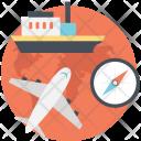 Gps Navigation Waypoint Icon