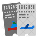 Traveling Ticket Icon
