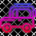 Traveling Van Caravan Icon
