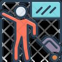 Traveller Passenger Hiker Icon